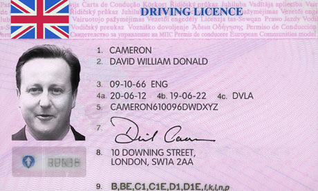 Limited Driving Spoof - Licence Cameron David Service Quality Recruitment